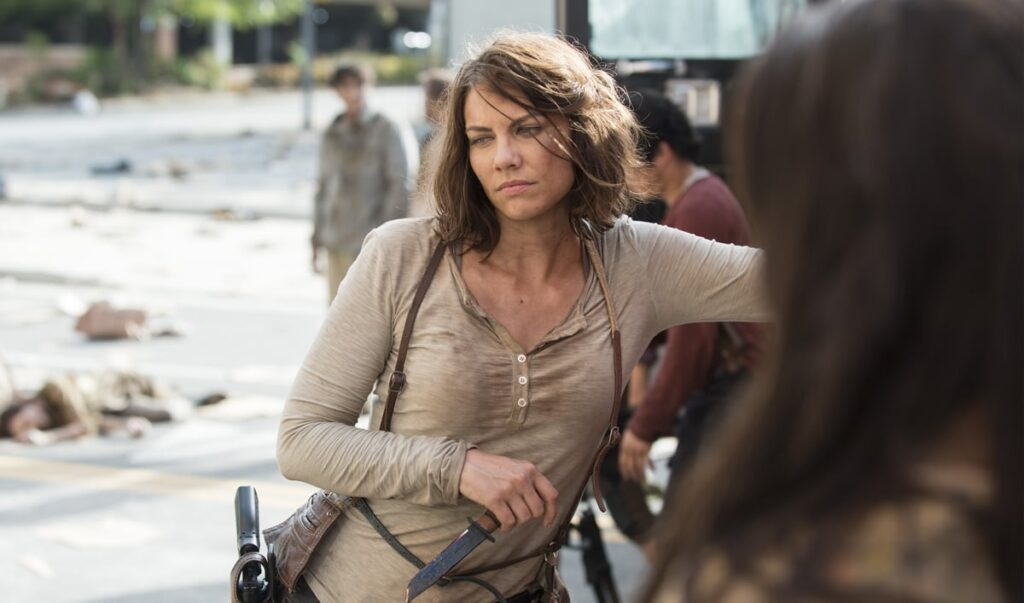 Maggie joined the cast in season 2 and has been quite awesome ever since. But awesome does not save you in this show.
